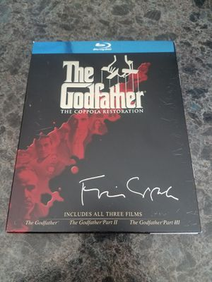The Godfather Trilogy Blu Ray Box Set for Sale in Elkton, VA