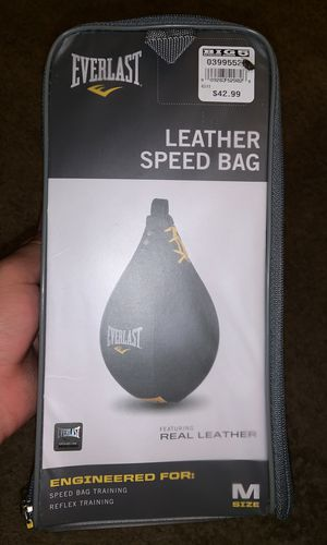Everlast Leather Speed Bag (Deadstock) for Sale in Federal Way, WA