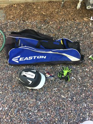 Base ball bag and gear for Sale in Rancho Cucamonga, CA