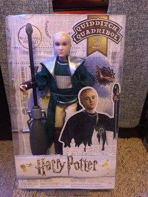 Draco Malfoy Harry Potter Quidditch Doll for Sale in Fresno, CA