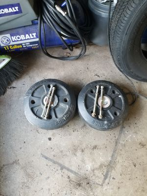 Craftsman Tractor Riding Mower Wheel Weights for Sale in Wakefield, MA