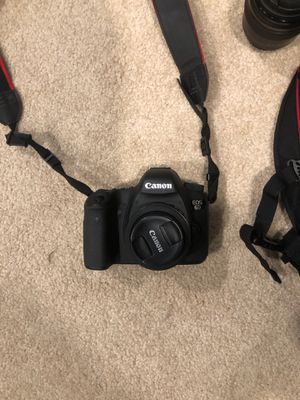 Canon 6D, 40mm, and 85mm lens with bag and other accessories for Sale in Joliet, IL