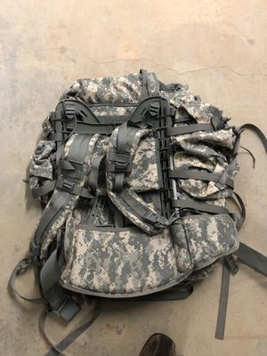 Large Army Backpack With Padded Frame for Sale in Raleigh, NC