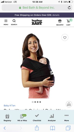 Baby ktan baby carrier for Sale in Apopka, FL