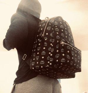 Black stark MCM bag Black/White 100% authentic for Sale in Drexel Hill, PA