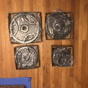 Olympic Weights (300 lbs) for Sale in Franklin, MA