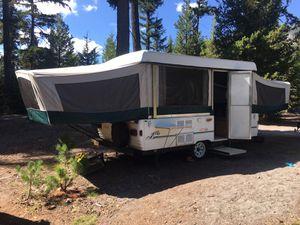 1998 Coleman Natchez pop up tent trailer camper w/ dinette slide for Sale in Sandy, OR