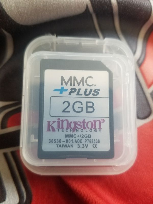 KINGSTON MMC CARD 2GB CAPACITY! $2