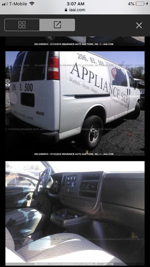 2008 GMC Savana 2500 3500 4.8 v8 PARTS ONLY for Sale in Federal Way, WA