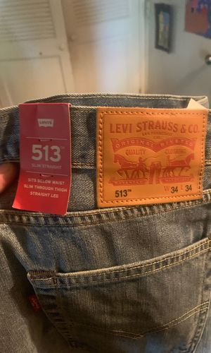513 Levi jeans clothes new jordan Nike vans yezzy for Sale in Levittown, PA