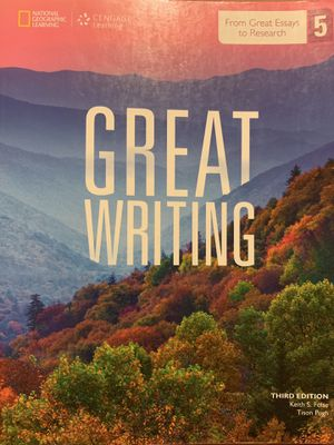 Great Writing 5 | third edition | Folse & Pugh for Sale in Pico Rivera, CA