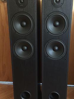 Polk Audio R50 150 Watt Floor standing Tower Speakers (Pair) MINT Condition for Sale in Happy Valley,  OR
