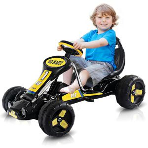 TY324116BK Go Kart Kids Ride On Car Pedal Powered Car 4 Wheel Racer Toy Stealth Outdoor for Sale in Santa Ana, CA