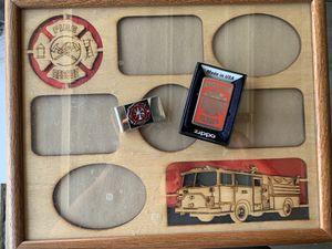 Firefighter Frame/ Money Clip/ Lighter for Sale in Moreno Valley, CA