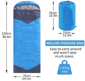 Lightweight waterproof Camping Sleeping Bags, 86.6in x 29.5in for Sale in Chino Hills, CA