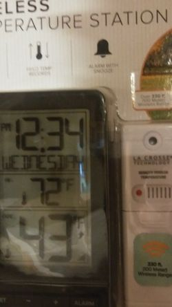 New Outdoor Indoor Temp Reader for Sale in Fairmont,  WV