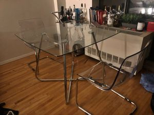 Glass Dining Table for Sale in New York, NY