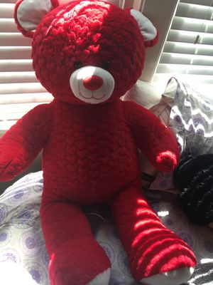 Giant Valentines Day edition Build A Bear for Sale in Los Angeles, CA