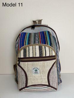 Backpack - Hemp Backpack made in Nepal for Sale in Portland,  OR