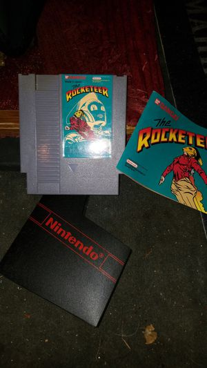 Nintendo game rocketeer with instructions and sleeve for Sale in Tacoma, WA