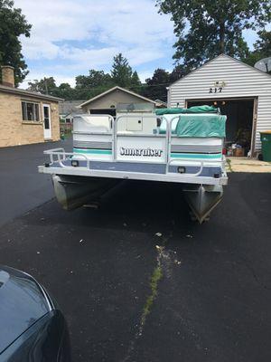 1993 suncruise 20' pontoon boat for Sale in Wauconda, IL