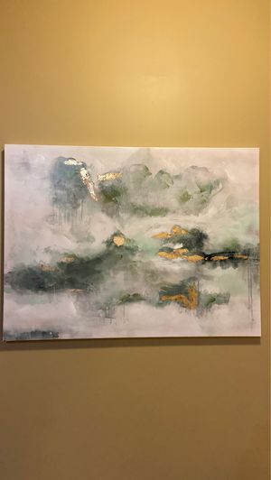 Multicolor Canvas abstract paint for Sale in Barrington, IL