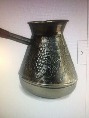 Armenian Coffee Pot. Jezve. Copper. Capacity-16,9 oz for Sale in Dallas, TX