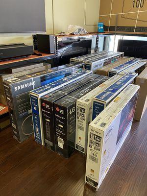 HUGE TV SALE SMART 4K BRAND NEW ! SAMSUNG LG SONY VIZIO QLED OLED TCL ROKU for Sale in Burbank, CA