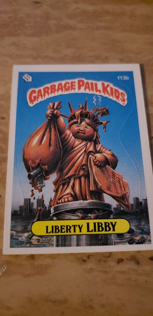 1986 Garbage Pail Kids Liberty Libby for Sale in Chicago, IL