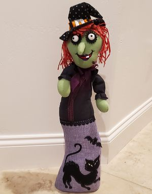 Halloween witch decoration for Sale in Nipomo, CA