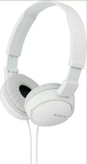 Sony MDR-ZX110 ZX Series Stereo Headphones White for Sale in Hamtramck, MI