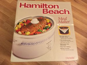 Vintage Hamilton Beach 7 Qt. Slow Cooker for Sale in San Jose, CA