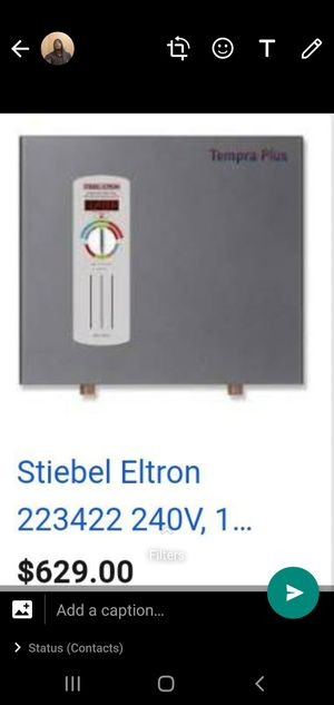 Tankless Water Heater STIEBEL ELTRON, Tempera 24 Plus. Use for a few months for Sale in Miramar, FL