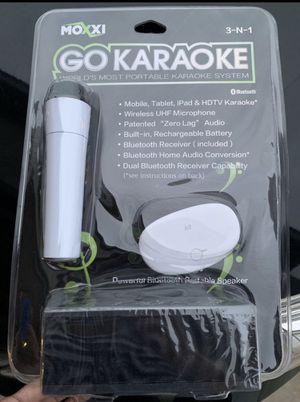 Karaoke (portable system) for Sale in San Juan Capistrano, CA