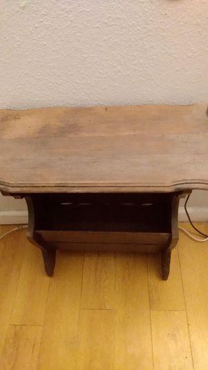 Antique table magazine holder for Sale in Glendora, CA