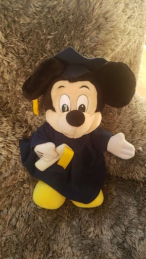Walt Disney vintage Mickey mouse Mouse graduation ceremony for Sale in Greenville, SC