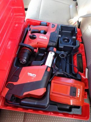 Hilti hammer drill kit battery powered for Sale in Miramar Beach, FL