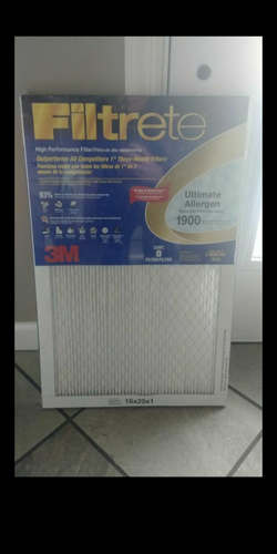 New 3 (16x25x1) Filtrete 1900 Ultimate Allergen filters for Sale in Pittsburgh,  PA
