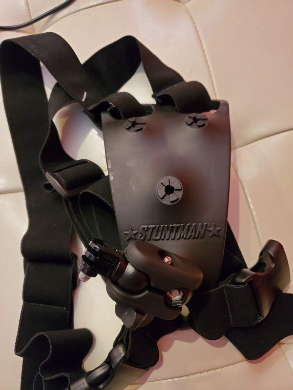 Stuntman gopro action camera harness