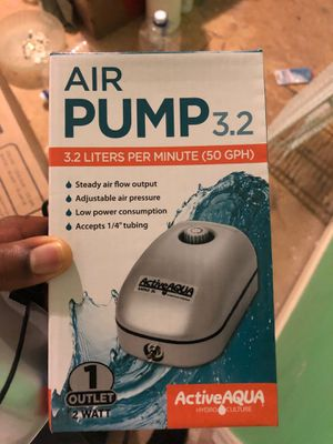 Hydroponic grow tent light air pump for Sale in Nashville, TN