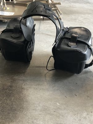 Motorcycle saddle bags for Sale in Seminole, FL