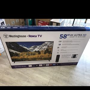 58 INCH WESTINGHOUSE ROKU SMART TV for Sale in Chino Hills, CA