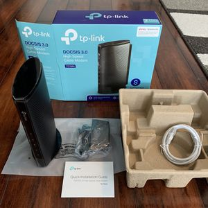 TP Link high speed cable modem model TC7650 for Sale in Chandler, AZ