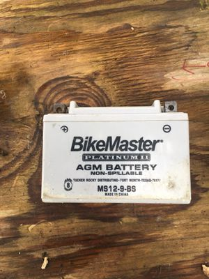 Bike Master Motorcycle battery for Sale in Severn, MD