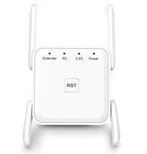 WiFi Range Extender, 1200Mbps WiFi Booster Repeater 2.4 & 5GHz Dual Band WPS Wireless Signal Strong Penetrability, Wide Range of Signals(2000F for Sale in Rancho Cucamonga, CA
