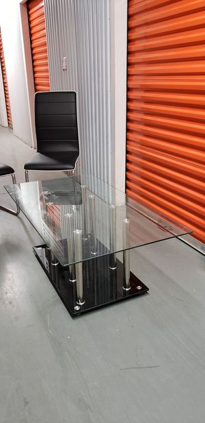 Glass Top Coffee Table for Sale in Washington, DC