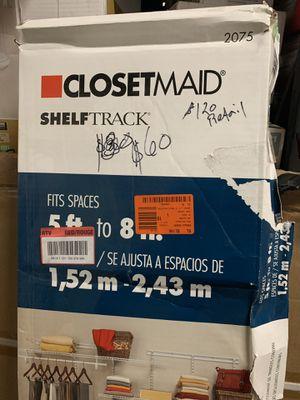 ClosetMaid Shelf Track! (READ DESCRIPTION) for Sale in Atlanta, GA