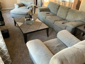 Sofa & 2 chairs + ottoman! for Sale in Plano, TX