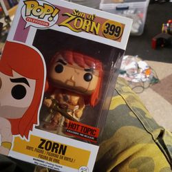 Funko #399 Pop Son Of Zorn - New In Box for Sale in Riverview,  FL