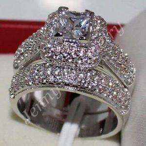White Diamonique Wedding Ring Sizes: 5 for Sale in Brownsboro, TX